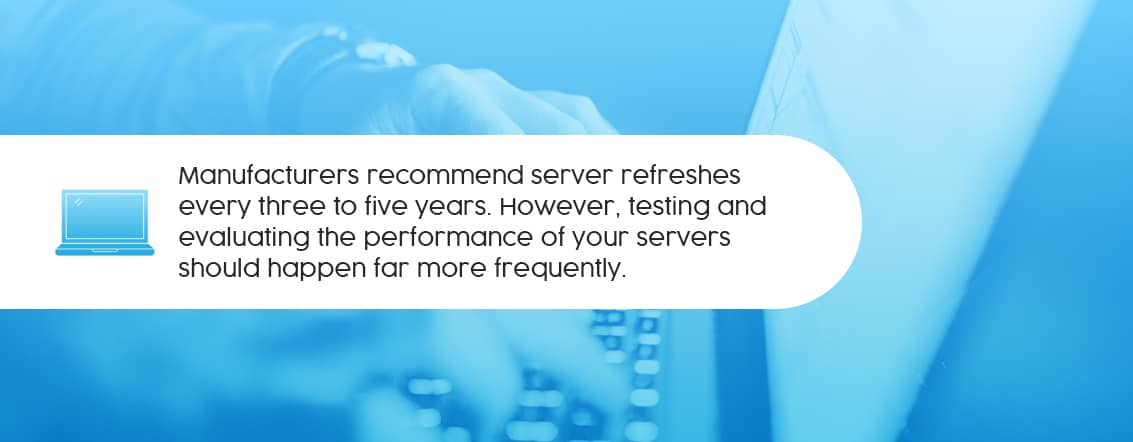 how oftern sholud you refresh your server?