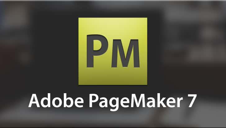 Adobe PageMaker 7 Logo