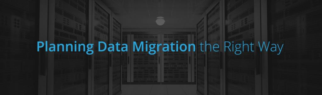 Data migration plan