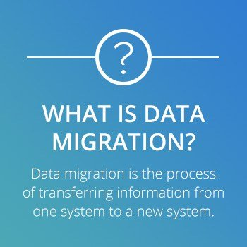 what is data migration