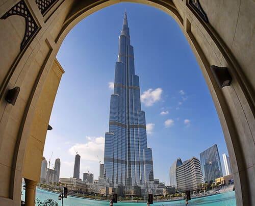 Dubai Desert Burj Kalifa Emirates