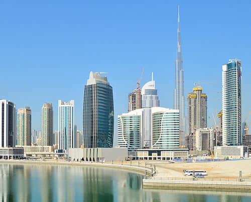 Dubai Skyscraper Sky Architecture